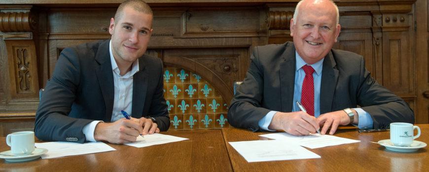Ondertekening beheersovereenkomst NS Stations en gemeente Deurne-2