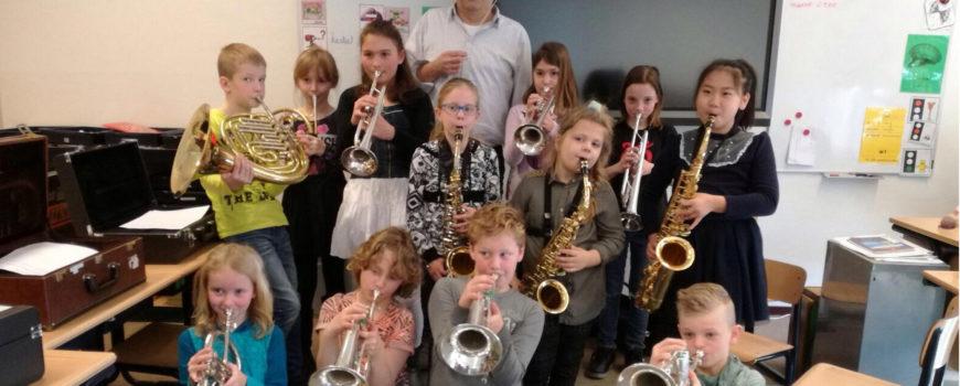 De Wegwijzer en D'n Bogerd vormen jeugdorkest