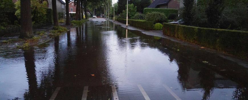 Regenbui te Deurne in augustus 2017