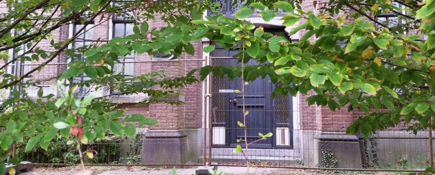 Fratershof voordeur