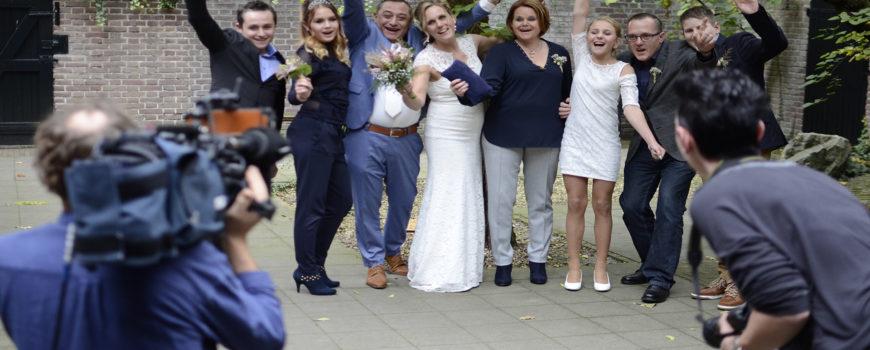Huwelijk Linda en Ivan