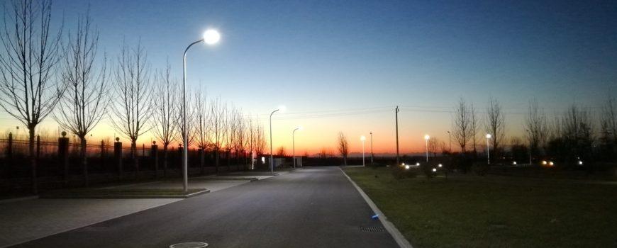 Lantaarns en straatverlichting