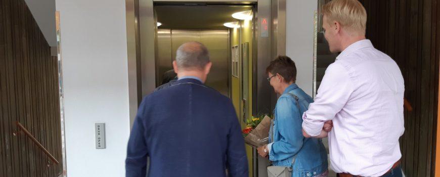Dementievriendelijke lift