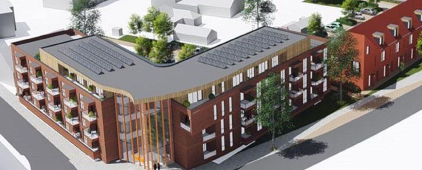 Nieuwbouw centrum Deurne