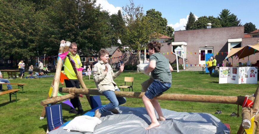 Spelen bij de Blokhut en de Speuldries