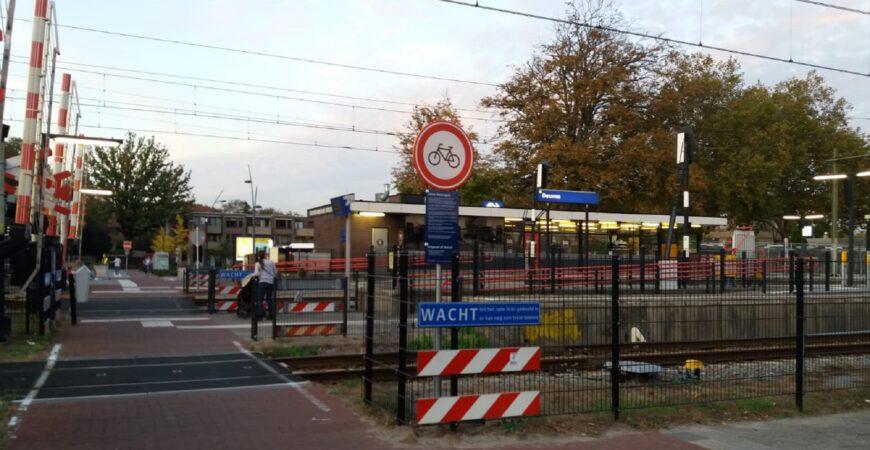 Fietsverbod station
