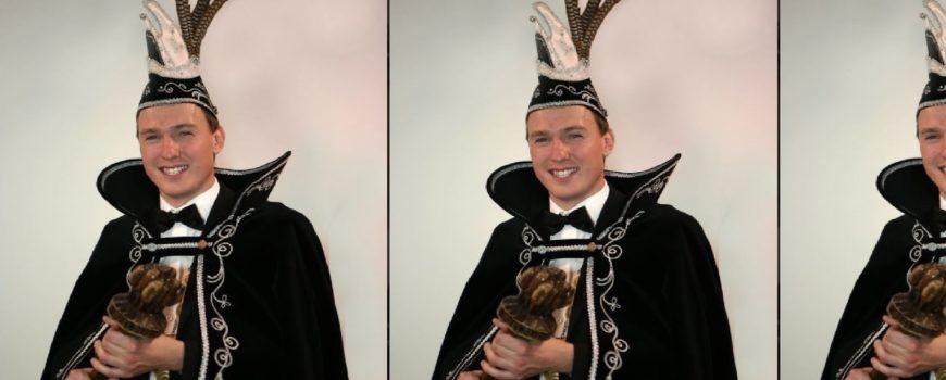 Kevin Brouwers en Femke Kastelijn prinsenpaar in Helenaveen
