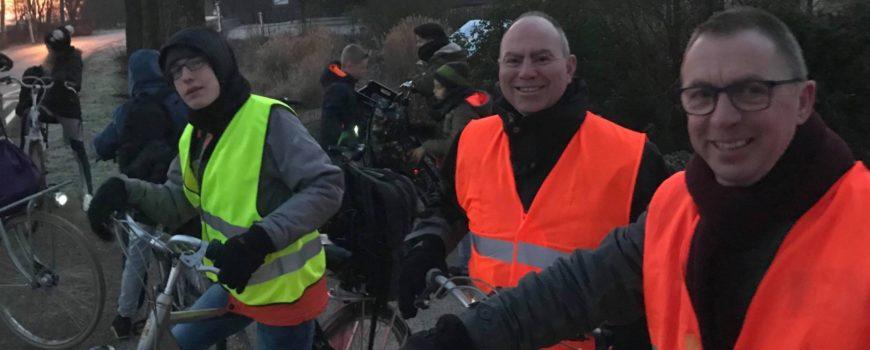 Faas fietst met Helm Verhees