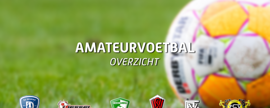 amateurvoetbal-overzicht