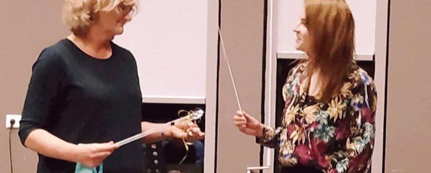 Dirigentwissel Popkoor Skoor