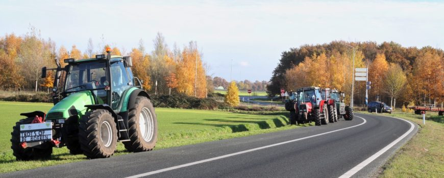 BoerenOprittenSnelwegProtest
