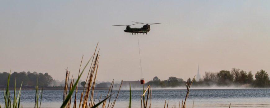 HelikopterLuchtmachtDeBrinkLiesselBrandPeel